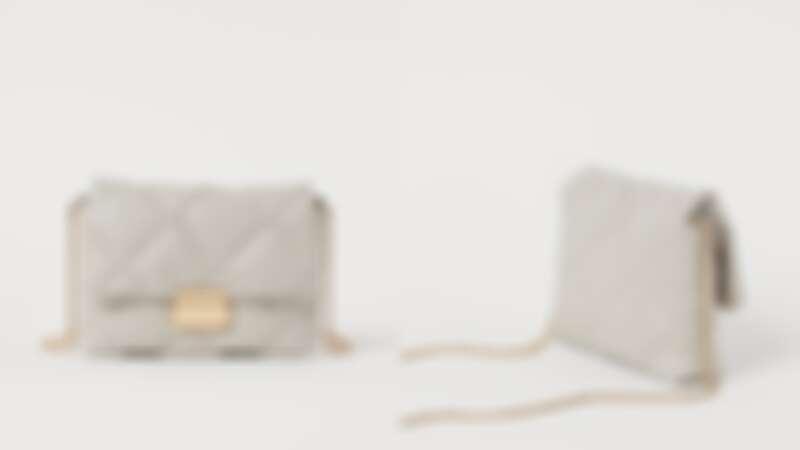 H&M車棉迷你包包