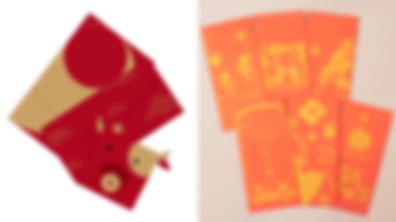 誠品線上|FUN ll 闔牛紅包禮袋,推薦價320元;誠品線上即日起消費滿1,388元贈獨家「好願如年」手繪插畫紅包袋組!