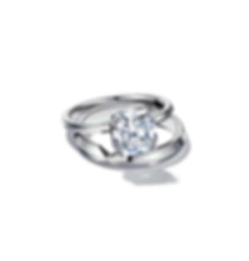 Tiffany True 鉑金鑽石戒指 價格店洽, The Tiffany Setting 鉑金窄版戒指 NT$43,500