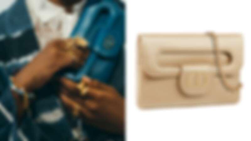 DiorDouble鍊帶手拿包,NT105,000