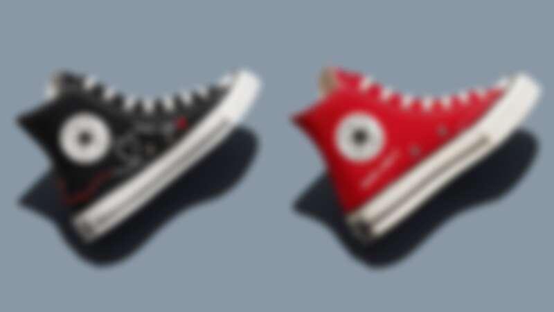 Converse 情人節系列(黑)、(紅),NT2,680