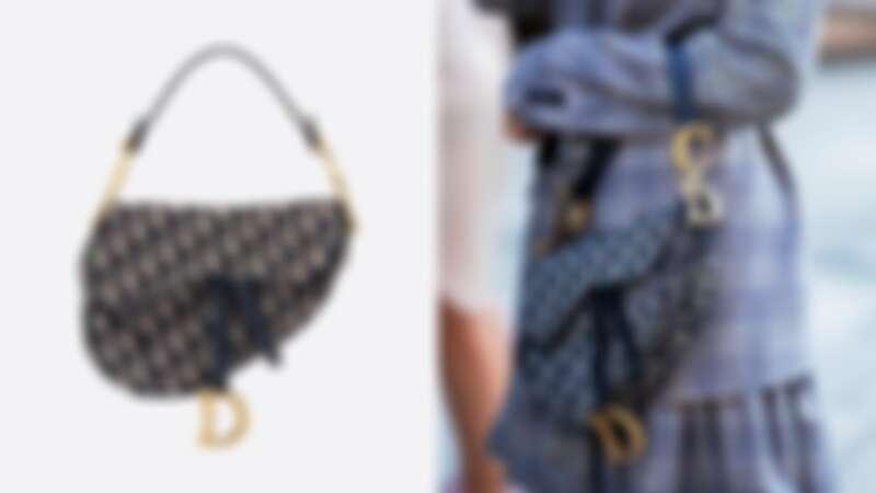 Dior Oblique馬鞍包,NT115,000