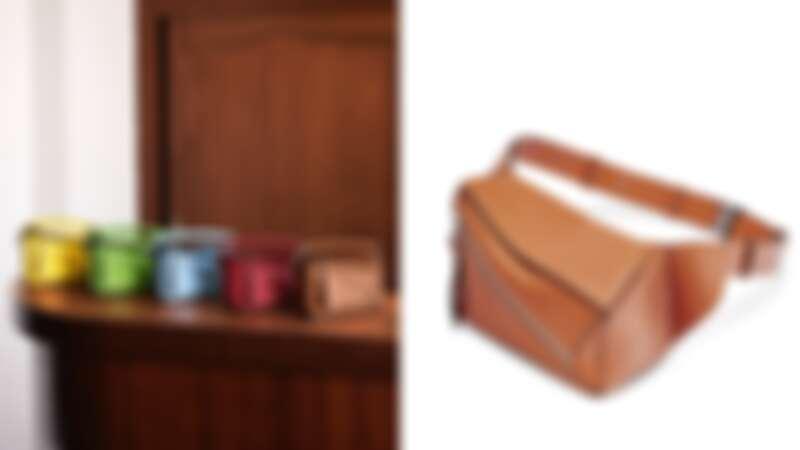 Loewe Nano Puzzle拼圖包,NT47,000、Puzzle拼圖腰包,NT63,000