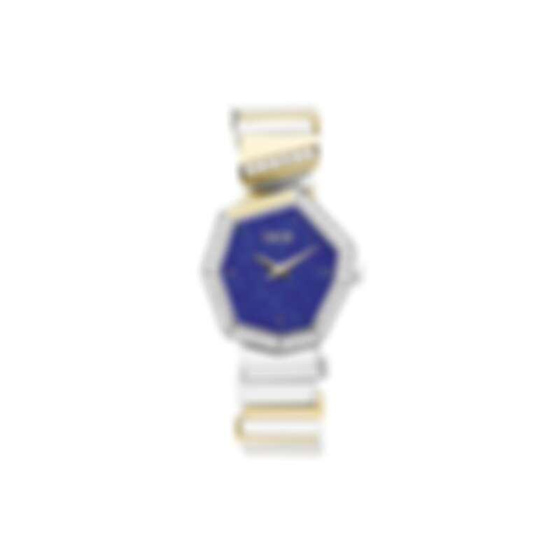 GEM DIOR 黃金精鋼青金石錶盤腕錶 NTD560,000