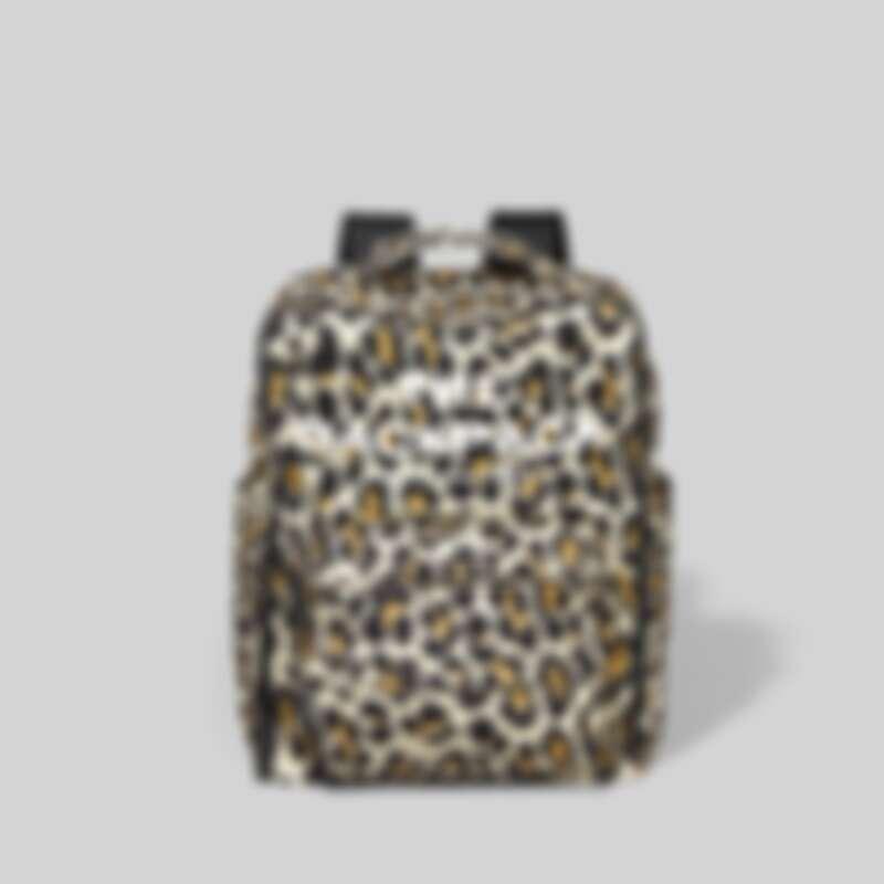 Marc Jacob The Backpack積木後背包(豹紋),售價NT$12,900