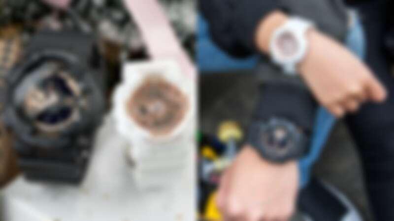 Casio G-SHOCK x BABY-G 率性魅力運動情人對錶,NT6,700