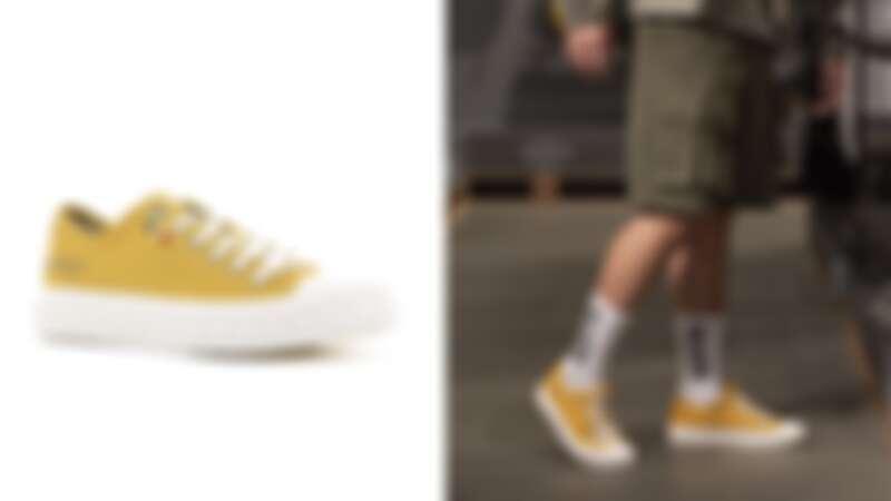 蜂蜜芥末色鬆餅鞋,NT2,280