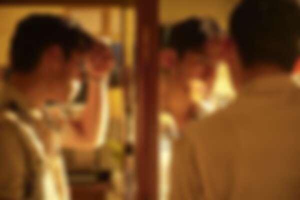 由朱軒洋飾演的阿派在劇中是著重打扮的時髦男子。