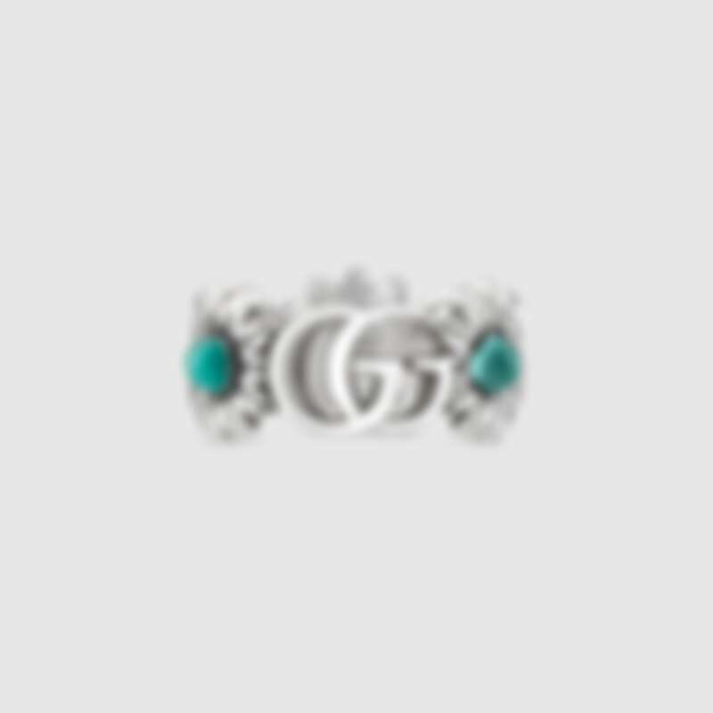 雙G 花朵戒指,約NT11,900
