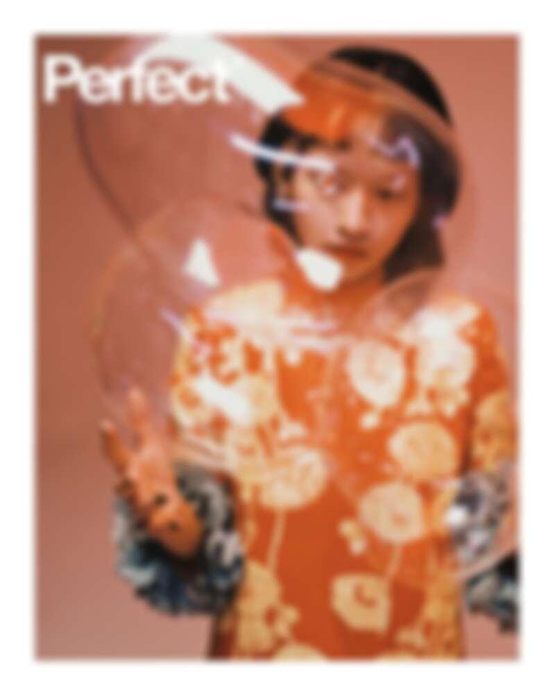 台灣嘻哈歌手陳嫺靜登上新型態雜誌《Perfect》