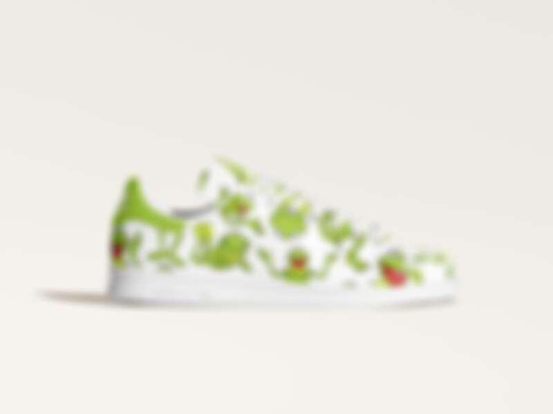 Stan Smith Kermit AOP鞋款,售價NT$4,090