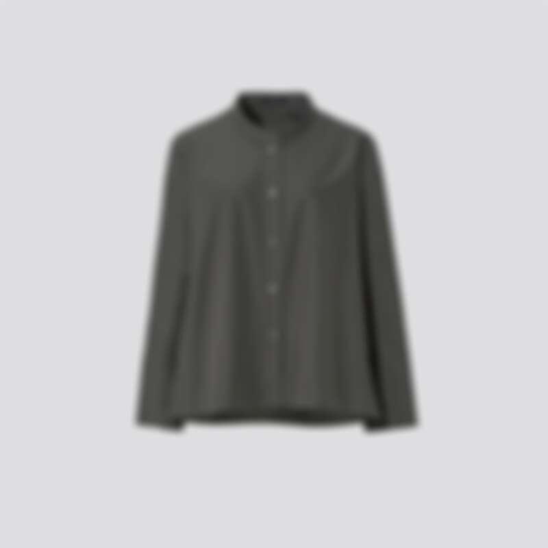 女裝 SUPIMA COTTON 襯衫式外套(長袖)_NT$1290