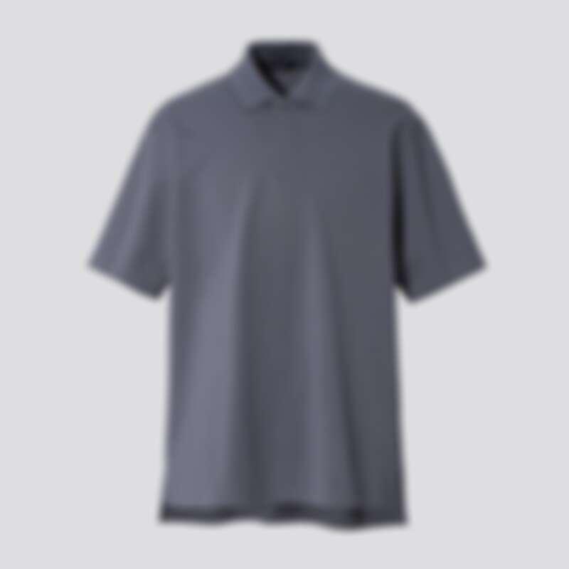 男裝 寬版POLO衫(短袖)_NT$990