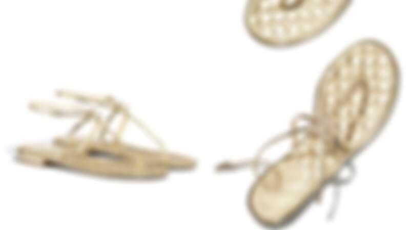雙C Logo夾腳涼鞋,NT31,700