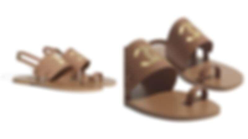 山羊皮涼鞋,NT30,000