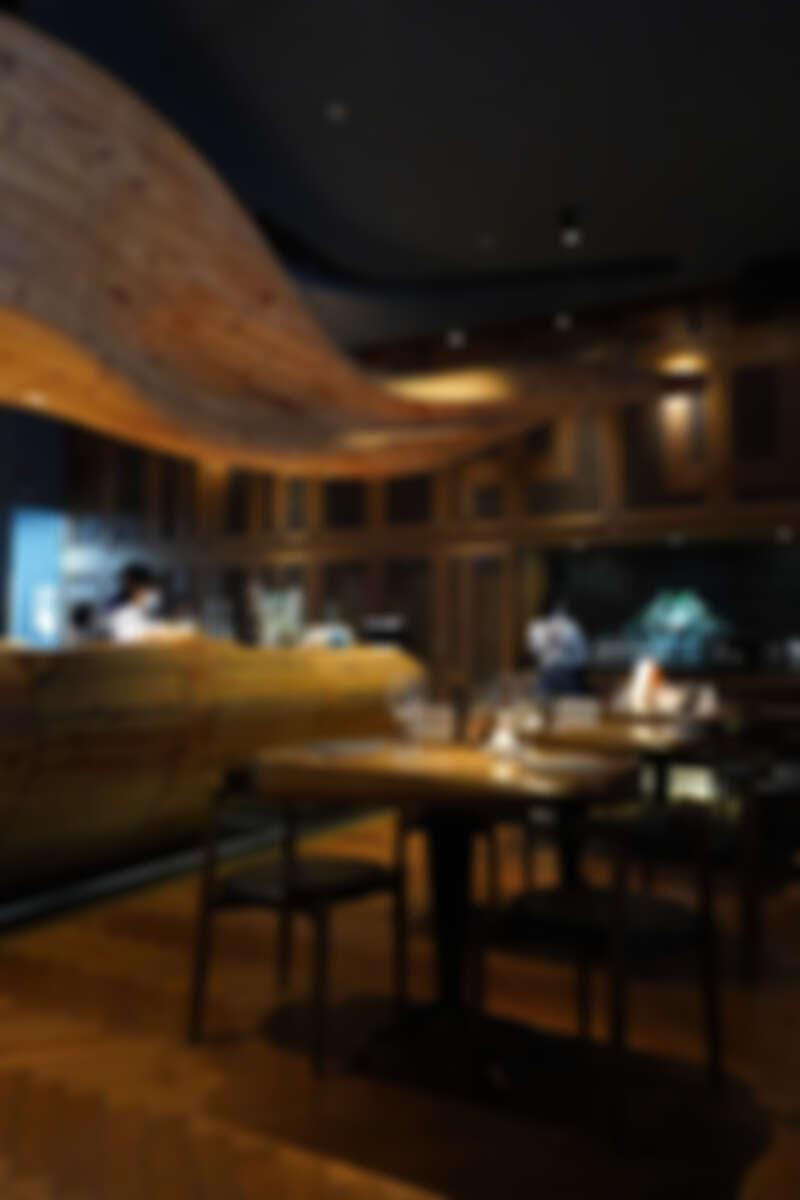 RAW餐廳實景。