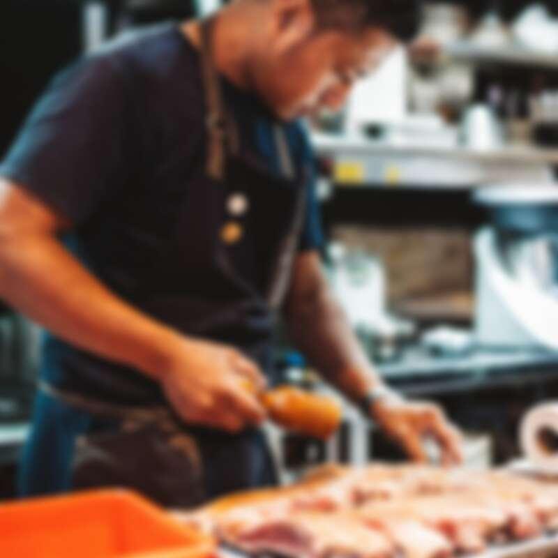 主廚 Alex(彭天恩)。