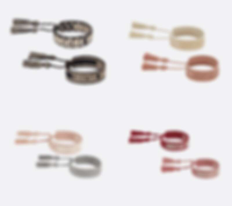 Dior J'adior手鏈套裝(一對),售價NT$15,000