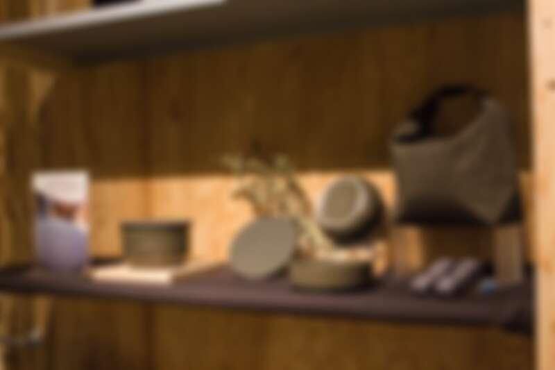 HAVEN by nest 現場展示墨黑色組合實品。