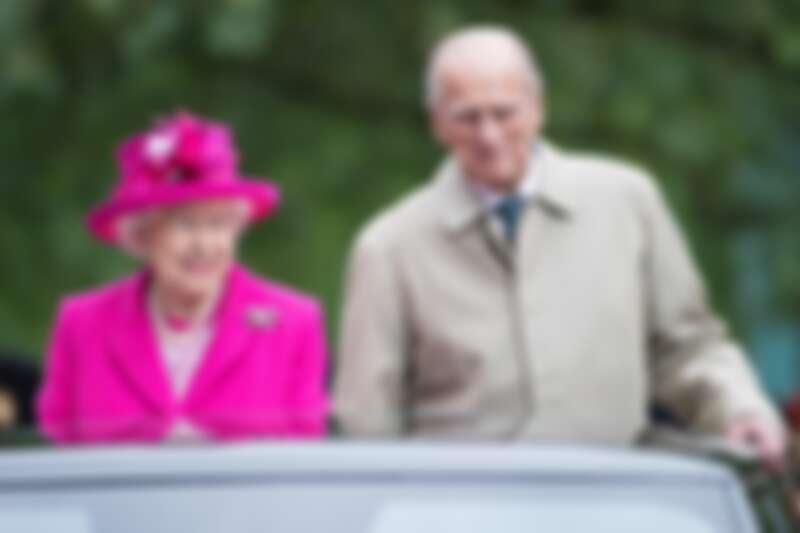 英國女王伊麗莎白&丈夫菲利普親王