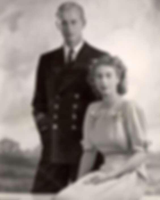 伊麗莎白女王與菲力普親王年輕時代