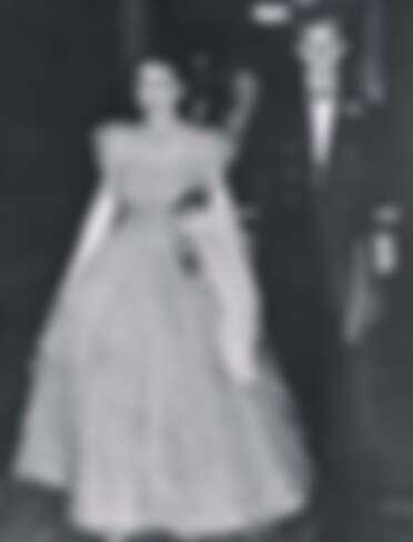 伊麗莎白女王與菲利普親王出席晚宴