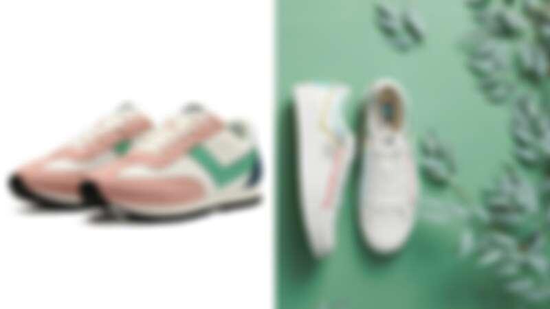 Pony SOHO復古慢跑鞋,NT1,980 / Pony SHOOTER帆布鞋系列環保鞋款,NT1,980-2,180