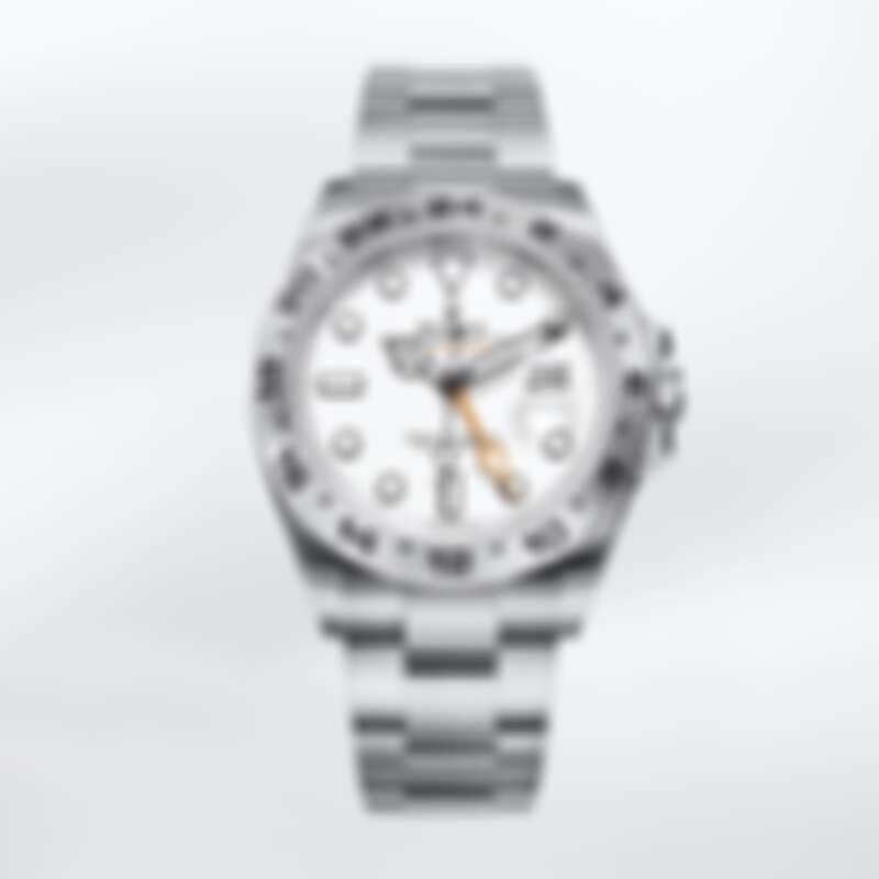 Rolex Explorer II 蠔式鋼 蠔式三格實心鏈節 定價NT282,000