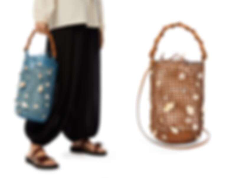 Loewe貝殼水桶包,售價NT$102,000