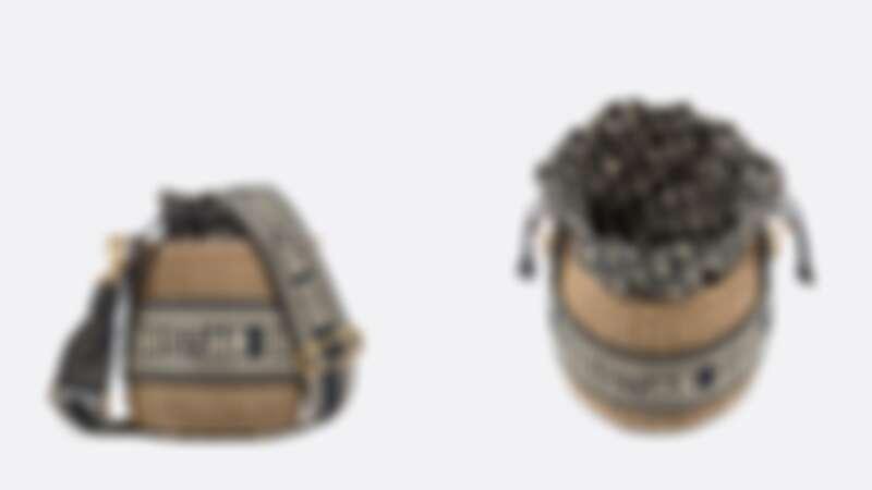 Dior Wicker藤籃水桶袋,售價NT$155,000