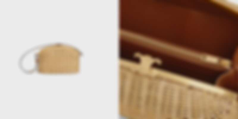 CELINE 小牛皮藤編包,售價NT$135,000