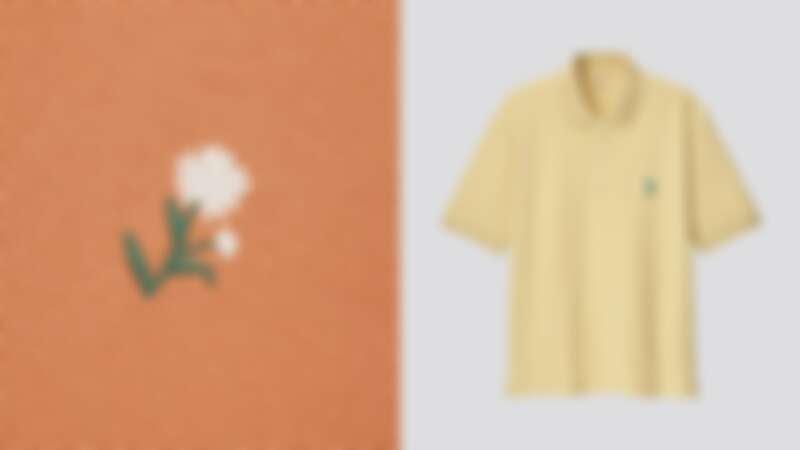 JWA刺繡設計POLO衫(短袖)