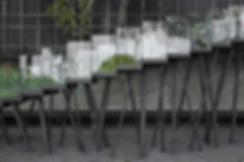 大量運用竹子舊木。