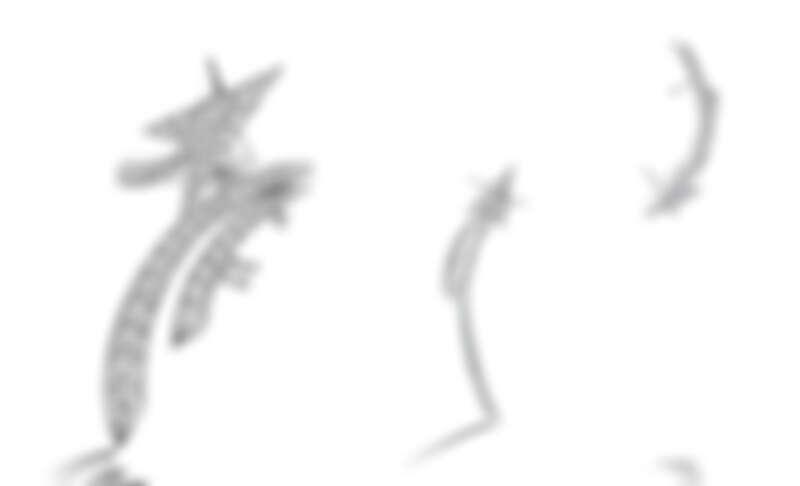 Starlight白K金鑽石戒指、Starlight白K金鑽石耳環