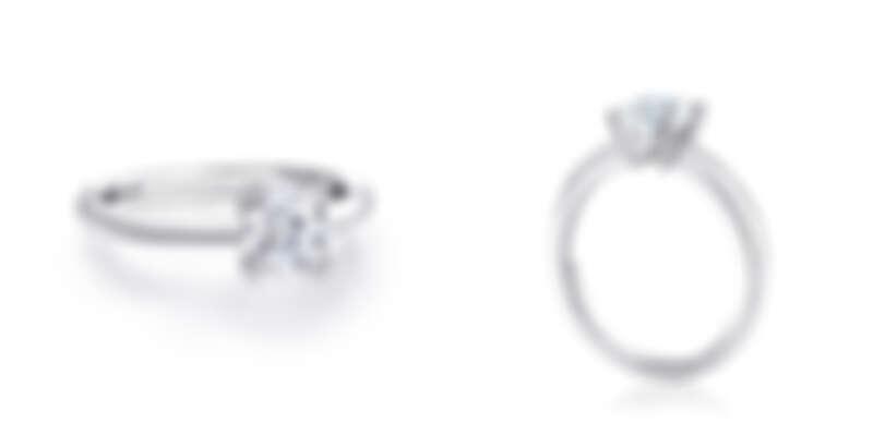 DLight鉑金鑽石戒指 主鑽約0.30ct起