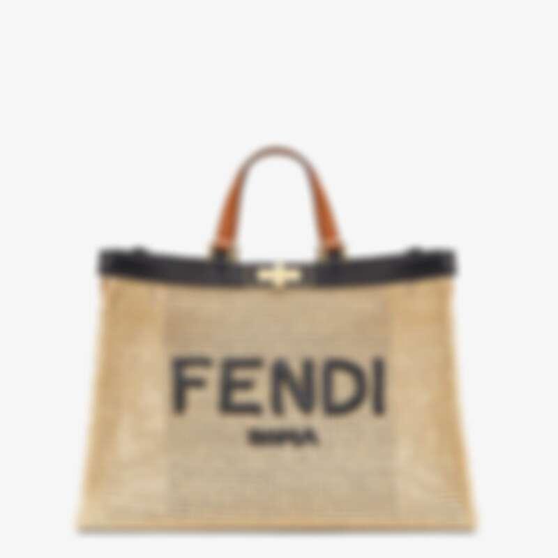 Fendi Peekaboo編織款,售價NT$137,000