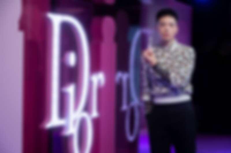 2020金音獎大贏家J.Sheon出席迪奧癮誘粉漾潤唇膏媒體預覽會暨粉耀眼派對樂園