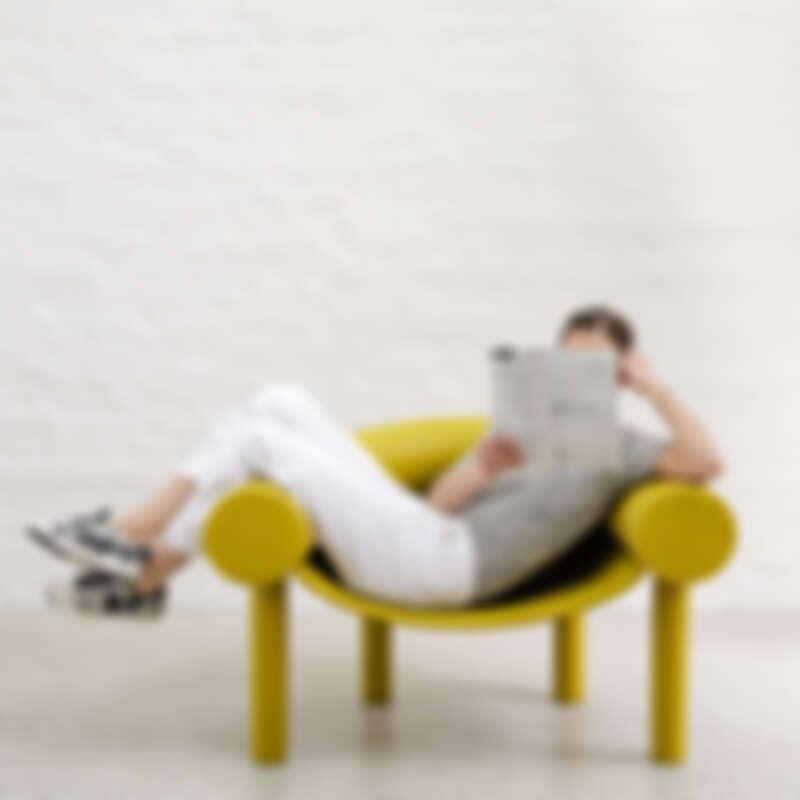Magis - Sam Son 軟背休閒椅,NT21,400元(共有三色)。