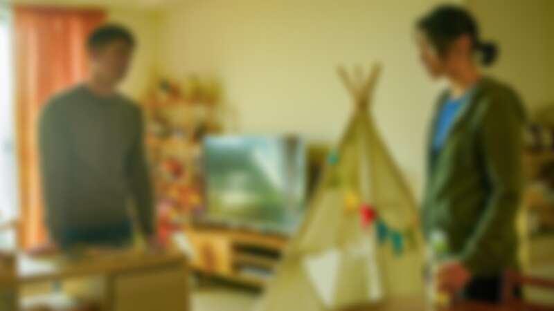 ▲溫昇豪在劇中陷入家庭與工作的兩難。(圖 / 公共電視、myVideo提供)