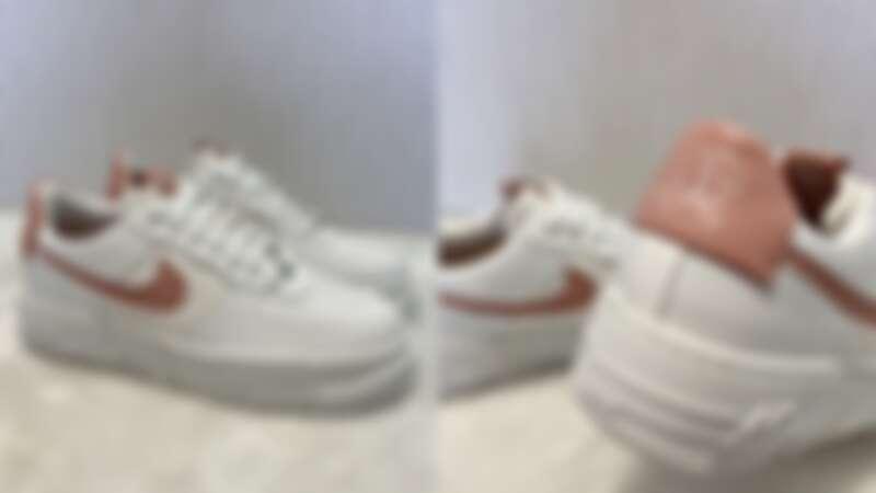 Nike Air Force 1 Pixel蜜桃粉,NT4,000