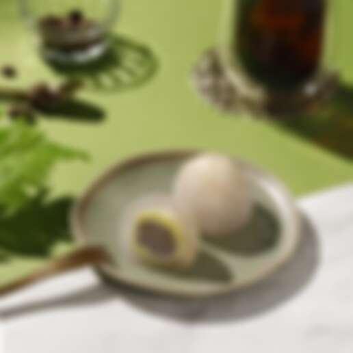 「芋泥綠豆沙星蕨餅」