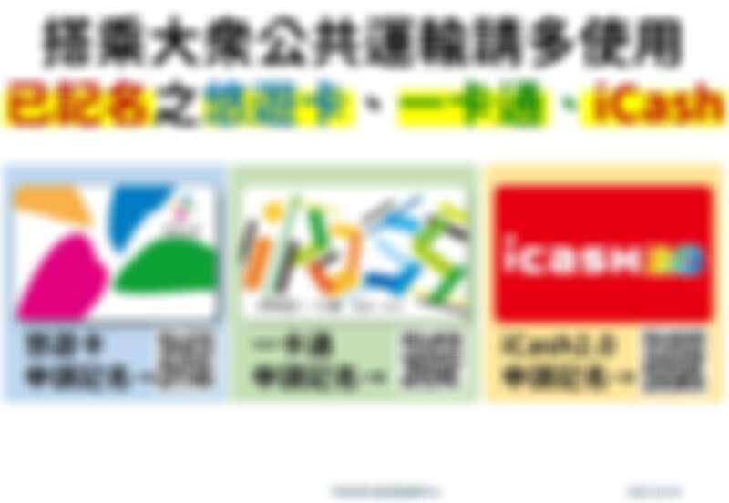 悠遊卡、一卡通、iCash申請記名QR Code