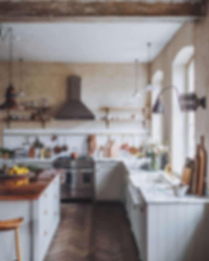 位於哥本哈根公寓的廚房(Photo by @_foodstories_)。
