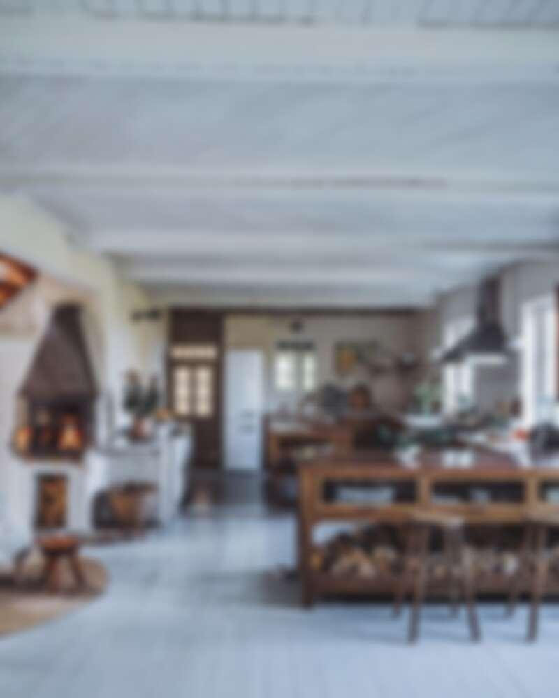 在瑞典度假小屋的廚房也大肆改造(Photo by @_foodstories_)。
