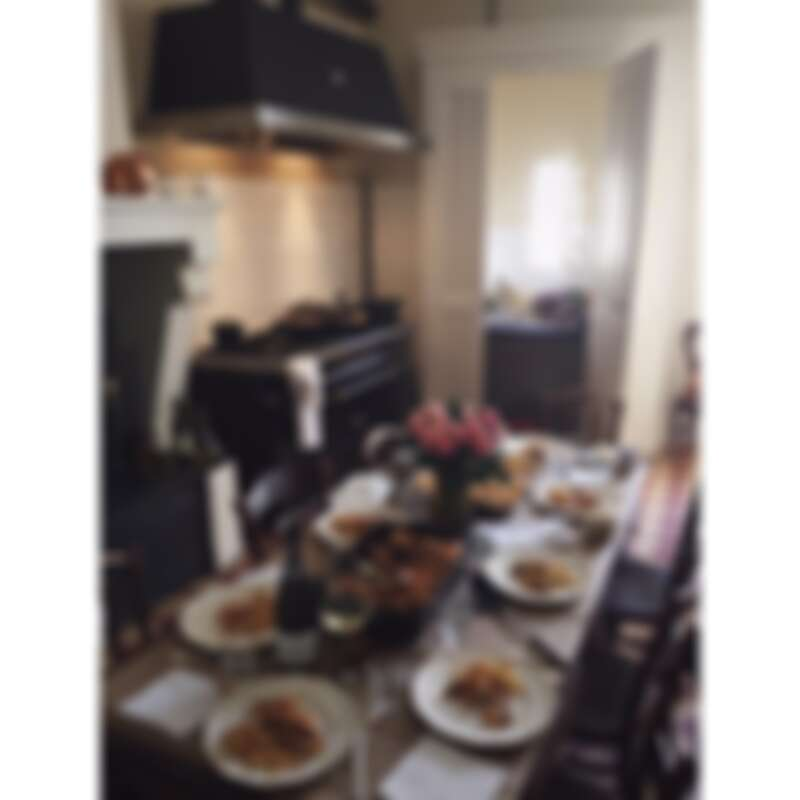 也是爐台與餐廳緊鄰的廚房(Photo by @mimithor)。