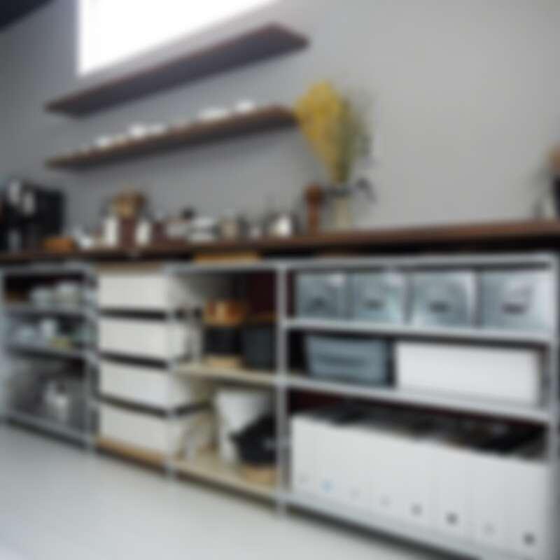 大量使用無印良品的收納盒、架(Photo by @chii_moi)。