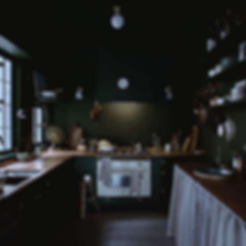 是看起來空間寬大的ㄇ字型廚房(Photo by @ladyandpups)。