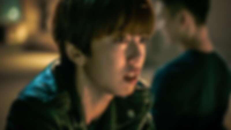 ▲陳庭妮在劇中不堪輿論重壓落淚。(圖 / 公共電視、myVideo提供)