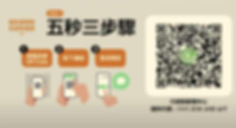 簡訊實聯制QR Code 以及操作步驟