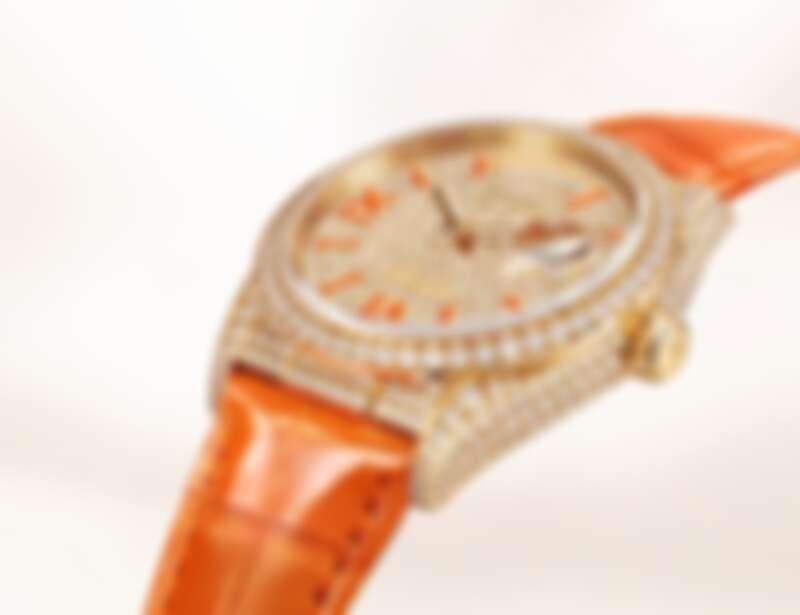 新款Day-Date 36搭載製錶技術領先的3255型機芯。